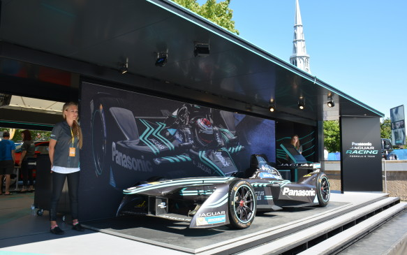 <p>The 2016-17 season brought in a few firsts with Panasonic Jaguar Racing entering the field of ten teams, which is seeing increased automaker participation every year. In addition, it was the first time a race was hosted by a Canadian city. Montreal would be the last stop of the season providing a double header racing weekend to determine the Formula E constructor's and driver's championship. It was the first time the championship had been decided outside of London.</p> <p>We got an inside look at what the series is all about thanks to Panasonic Jaguar Racing.</p>