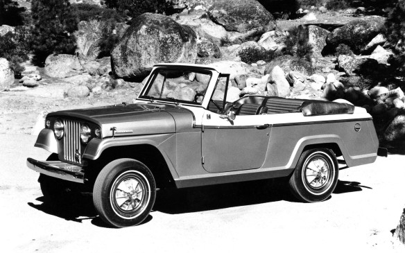 <p>The Jeep Commando wasn't made for long – just six years from 1967-1973 – but examples like this 1967 Jeepster Commando convertible are popular now among collectors.</p>