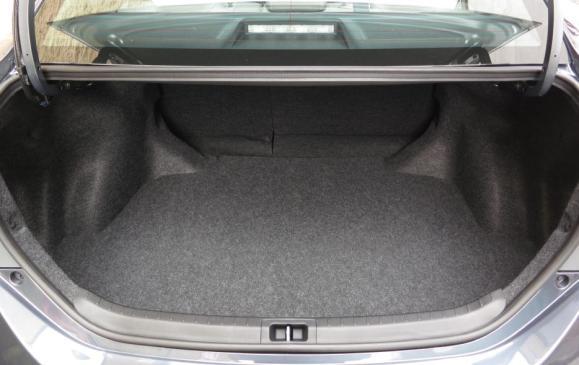 2014 Toyota Corolla - trunk