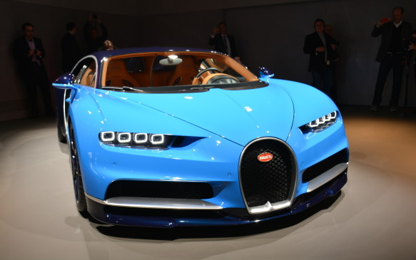 <p>One of the stars of the Geneva show came from Bugatti in the form of its Chiron supercar. The numbers are staggering as its 8.0-litre 16-cylinder engine, with – count them – four turbochargers, produces 1,478 horsepower and boasts a maximum speed of 420 km/h. Only 500 units will be made with an asking price of 2.4 million euros. It not only looks fantastic, it will be the most powerful true production vehicle on the road.</p>
