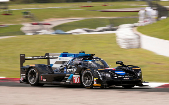 <p>The race car that is dominating the WeatherTech SportsCar Championship is called the Cadillac DPi-V.R. It competes in the prototype class – which has new regulations beginning this year – and is fitted with a naturally aspirated 6.2-litre V-8 engine that produces 600 hp @ 6,800 rpm. The project began with the choice of the engine to fit new rules for the series back in April 2015. Cadillac was the first team to commit to the new format and has tested more than any other team.</p>