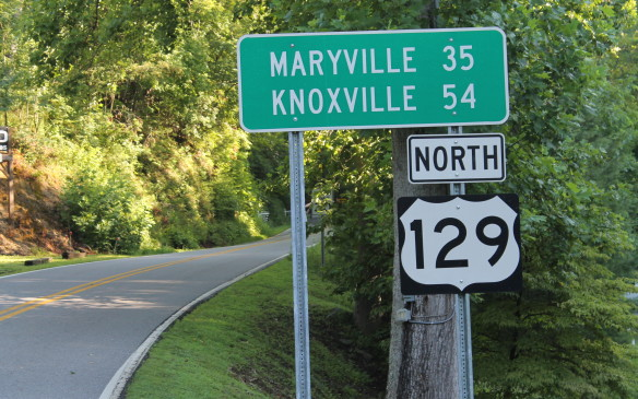 <p>U.S. Highway 129 is known as the 'Tail of the Dragon'. Running through the Smoky Mountains between the North Carolina/Tennessee border and Knoxville, it's one of the best-known and most popular roads for sports bikes and cars in the eastern United States. We paid it a visit to find out why.</p>