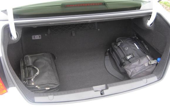 2015 Acura RLX - trunk
