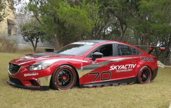 2014 Mazda6 - diesel racing car