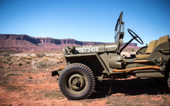 <p>While the American Bantam design was chosen, that small company lacked the necessary production capacity. So Willys was awarded the contract to build the vehicles (joined later by Ford) and created the MB, the first production Jeep, in 1941.</p>