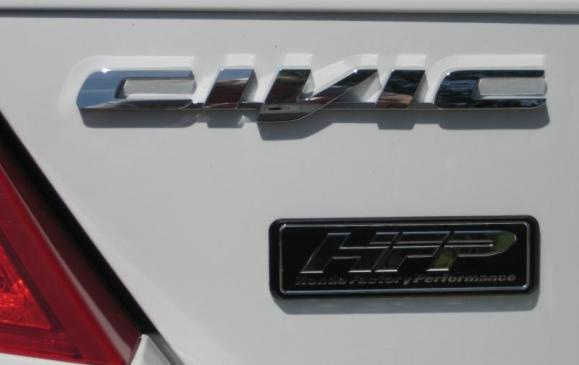 2012 Honda Civic Si HFP - Badging