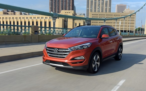 "<p><strong></strong>Ranked #17 – ""with a bullet!"" – Hyundai's stylish compact Tucson crossover utility vehicle increased sales by 25.0% to 4,331 units in Q1.</p>"