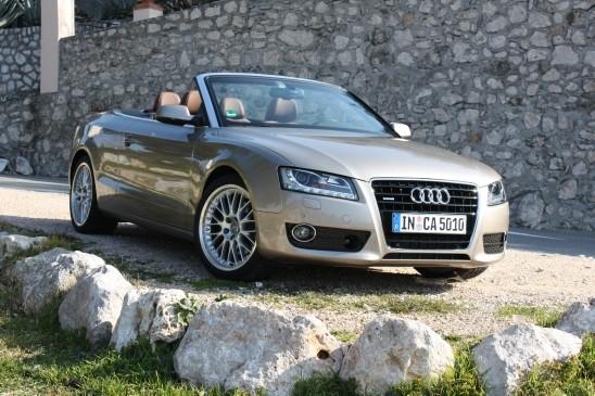 Audi 2010 A5 3.2 cabrio front