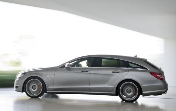 Mercedes-Benz CLS 63 AMG Shooting Brake - Side