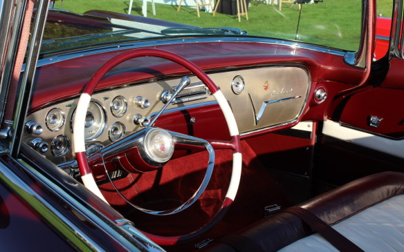 <p>As sumptuous inside as out, the 1955 Packard Caribbean was at the height of American luxury for the period.</p>