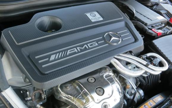 2014 Mercedes-Benz CLA AMG - engine