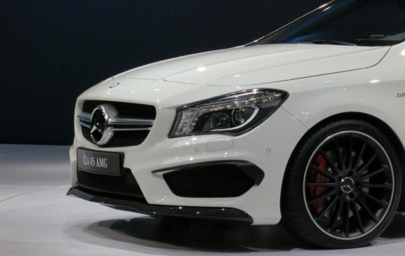 NYIAS - 2014 Mercedes-Benz CLA AMG