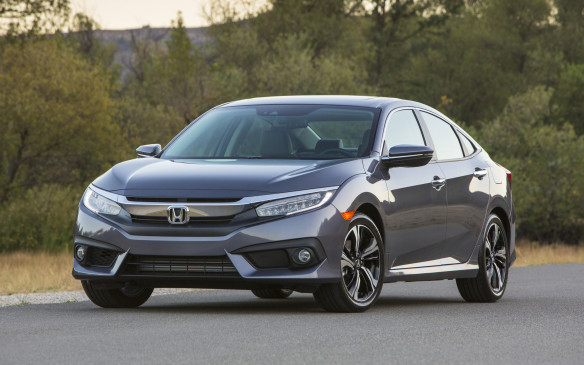<p>The Honda Civic Sedan won Best New Small Car with a score of 709 points.  It earned top scores in styling, appearance, ride comfort and handling.</p>