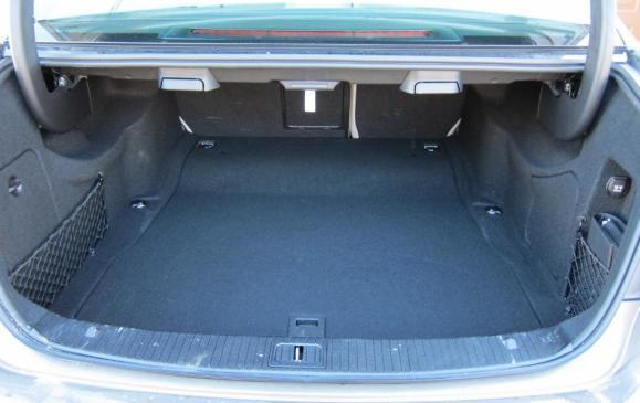 2012 Mercedes-Benz E350 - trunk