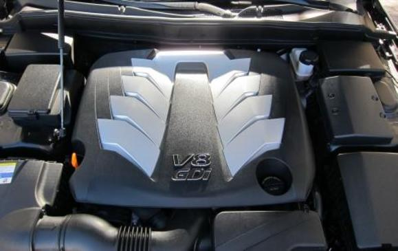 2012 Hyundai Genesis- engine