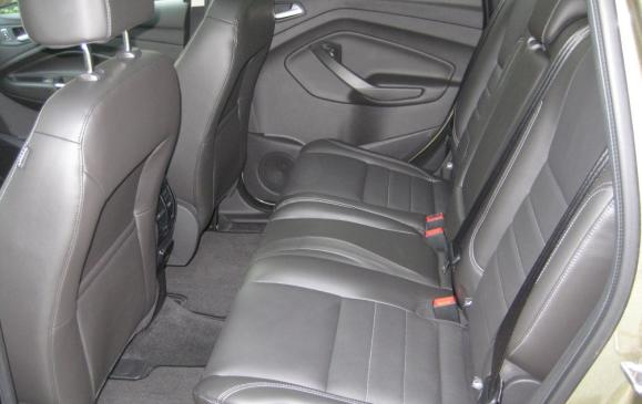 2013 Ford Escape -rear seats