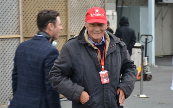 <p>As you walk up and down the paddock some familiar faces will cross your path, including several past champions. It's a lot easier to chat and take pictures with these heroes that include Niki Lauda…</p> <p> </p>