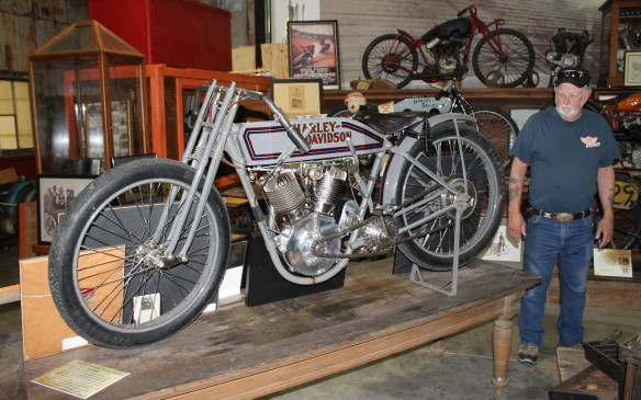 <p>The Wheels Through Time museum in Maggie Valley, N.C., is devoted to American motorcycles. It gets about 150,000 visitors every year to its site near Asheville in the Smoky Mountains. There are more than 300 bikes on display from at least 24 different marques, though the majority are Harleys. Most don't have written descriptions, but we had a personal tour of the best of them with curator and guide Jack Harwell.</p>