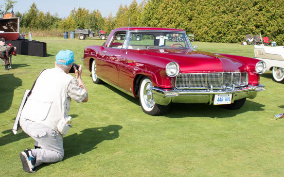 <p>Among the most elegant cars in the show was this1956 Continental Mk II. It was the winner of the special 'Poetry in Motion' award.</p>