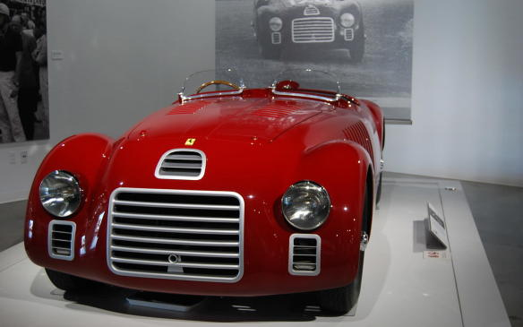<p>Enzo Ferrari was first and foremost a racer. After World War II, he rebuilt his Maranello workshop, which had been levelled by Allied bombs, to build and sell road-going cars – so he could fund his racing activities. The first production car to bear his name was the model 125 S.</p>