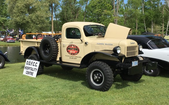 <p>Not all Power Wagons were Dodges. This Fargo version doubled as a club's hospitality centre.</p>