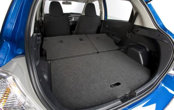 2012 Toyota Yaris Hatchback - cargo area