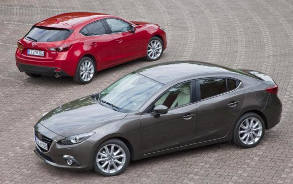 2014 Mazda3 Sedan and Hatchback