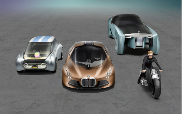 <p>This is BMW's 100<sup>th</sup> anniversary and to mark the occasion the German maker created four concept vehicles that it sees as the future of its brands – and of transportation.</p> <p>By Mark Richardson</p>