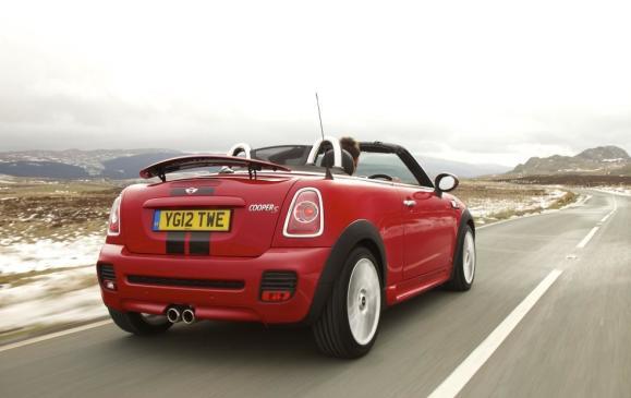 2012 MINI Roadster - Rear