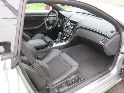2011 Cadillacx CTS-V