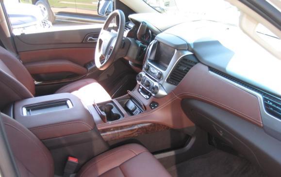 2015 Chevrolet Suburban - interior