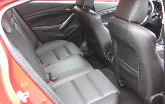 2014 Maxzda6 GT - back seat