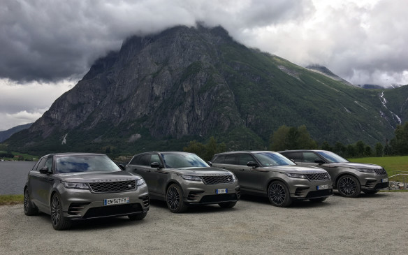 <p>We were treated to all sorts of weather and roads during our 500  kilometres trek in Norway. The Velar was ready for it, with an all-wheel drive system built around a single-speed transfer case that switches from rear drive to fully-locked in 165 milliseconds or transfers torque to the front wheels in 100 milliseconds. You can choose between six driving modes: eco, comfort, grass-gravel-snow, mud-and-ruts, sand or Dynamic. In the First Edition, the Terrain Response 2 system has an Auto mode that lets sensors and computers modulate everything, in synch with stability control, torque-vectoring and a locking rear differential.</p>