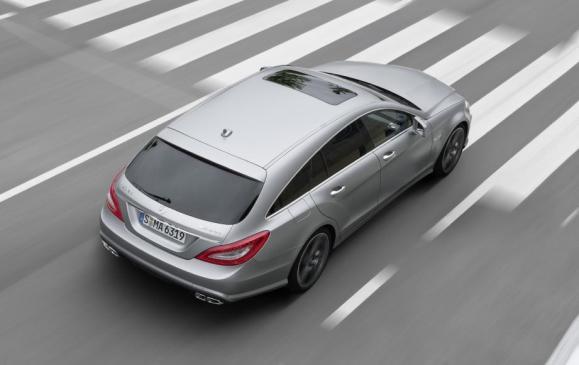 Mercedes-Benz CLS 63 AMG Shooting Brake - Rear