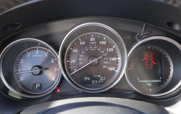 2014 Mazda CX-5 - instrument cluster