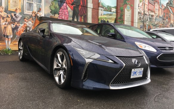 <p><strong>2017 Lexus LC 500h</strong></p> <ul> <li>Price as tested: $120,271.25 (starting price: $118,100.)</li> <li>5-litre V-6, Lexus Hybrid Drive, multistage transmission (10-speed simulation).</li> <li>Net hybrid horsepower: 354 (264 kW).</li> <li>Fuel economy: 8.0 L/100 km combined; AJAC fuel consumption: 7.0 L/100 km combined.</li> </ul>