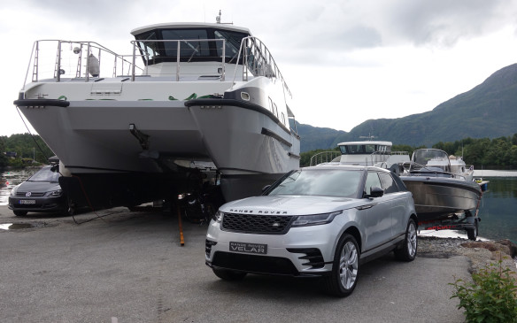 <p>An SUV must be able to tow a trailer and the Velar, however stylish and chic, is ready for it. Towing capacity, for models powered by the supercharged V-6, goes from 750 kg for a regular load to 2,500 kg with electric brakes. Maximum towing capacity is barely less with the torque-rich, 2.0-litre turbodiesel engine, at 2,400 kg. The Velar can also be equipped with the Advanced Tow Assist system that lets you back a trailer up by using the rotary controller and following guiding lines on a screen. The hitch assist and trailer light test features are great too.</p>