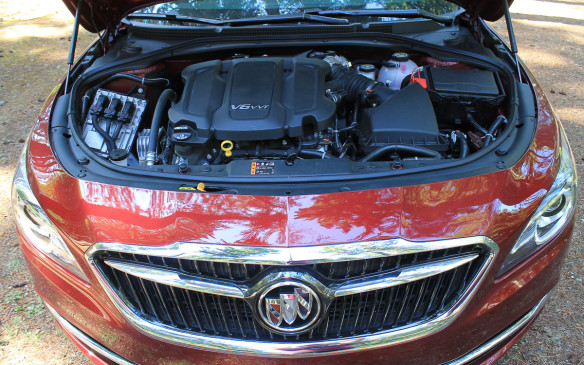 <p>The engine is all-new – the second generation version of General Motors' 3.6-litre V-6, which makes 305 hp and 268 lb-ft of torque. Buick used the 3.7L Infiniti V-6 engine as the benchmark for its power.</p>