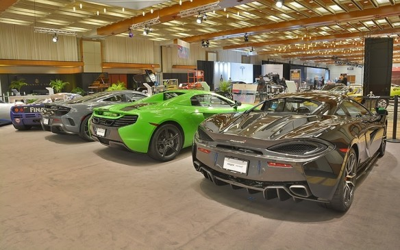 <p>Another exotic car brand making a push into the Canadian market is the revered British race and sports car builder McLaren. Distributed through a select exotic vehicle dealer network in Canada, the company's new 540C coupe has a starting sticker price of $196,500 making it one of the best values in its segment. A company building cars on a philosophy of 'form follows function', McLaren isn't hard to love.</p>