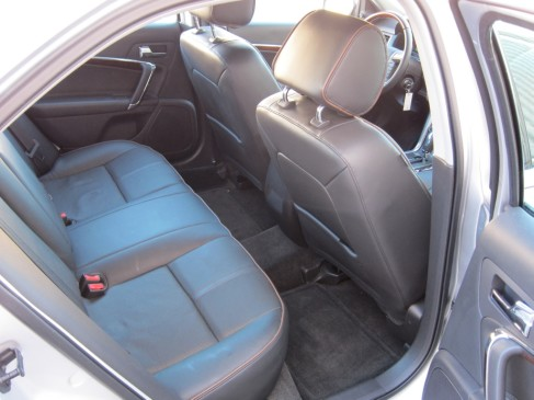 2012 Lincoln MKZ rear seat