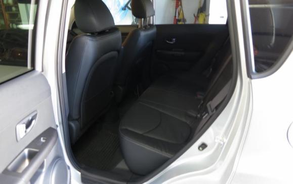 2013 Kia Soul - rear seat