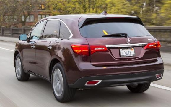 2014 Acura MDX - rear 3/4 view