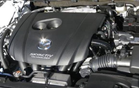 2014 Mazda6 - engine