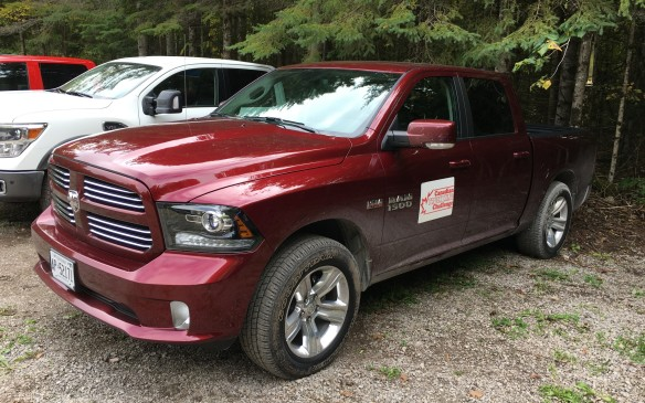 <p>The ultimately winning 2017 Ram 1500 Sport Crew Cab 4X4 ($60,005 as tested) was powered by a 5.7-litre Hemi V-8 channelling its output through an eight-speed automatic transmission. Its powertrain scored well with the judges – the Hemi engine delivered excellent power and response while the transmission shifted smoothly as it worked its way up and down through the eight gears. It seemed to make no difference to this truck's ride and performance whether it was loaded, towing, or simply running along.</p>