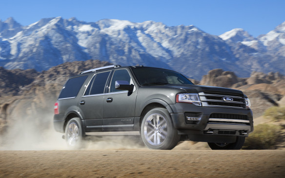 <p>The Ford Expedition, the most successful mainstream large SUV in Canada is also going through a major redesign. It will be a 2018 model year vehicle that will become available in late 2017. Details of the new model have been kept under wraps during the design and development stage so the photo here is of a 2017 model. </p> <p>An aluminum body, similar to the one on the F-150, is the big news in regards to the new Expedition. The expansion of a high-strength lightweight aluminum body to other products is a bold move by the Blue Oval, reinforcing its faith behind that construction. Expect the full-size SUV to focus on better fuel economy and added performance through Ford's EcoBoost engines.</p>