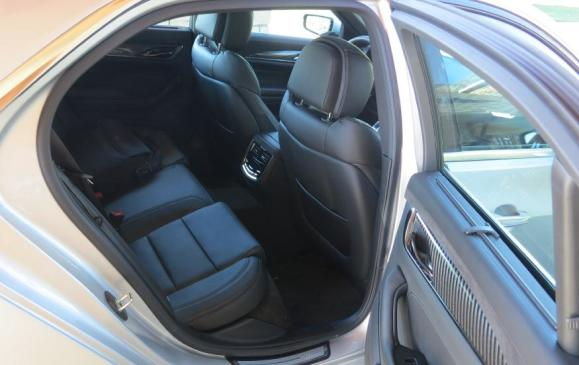 2014 Cadillac CTS - rear seat