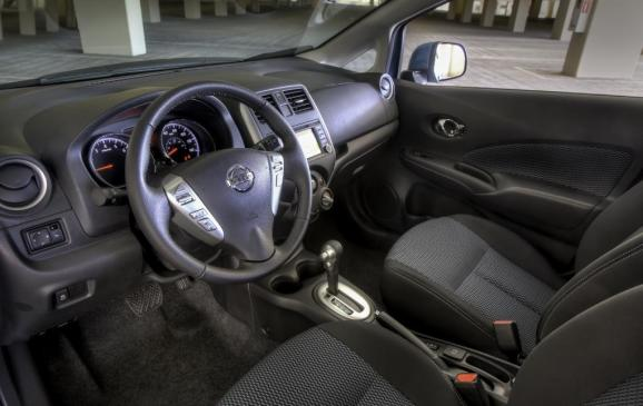 2014 Nissan Versa Note - interior