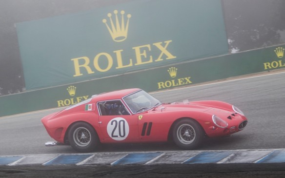 <p>And yes, that's a real gazillion-dollar Ferrari 250 GTO really racing in the marine-layer fog that characterizes mornings in Monterey.</p>
