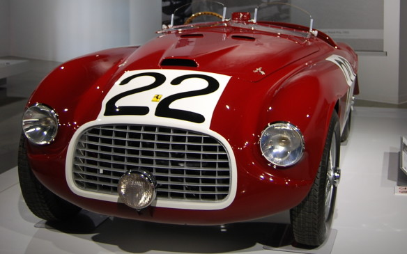 "<p>Just a couple years later, in 1949, this 166 MM became the first Ferrari-badged race car to claim overall victory at the 24 Hours of Le Mans. That same year, it won the  iconic Mille Miglia, from which the car derives its ""MM"" model designation.</p>"