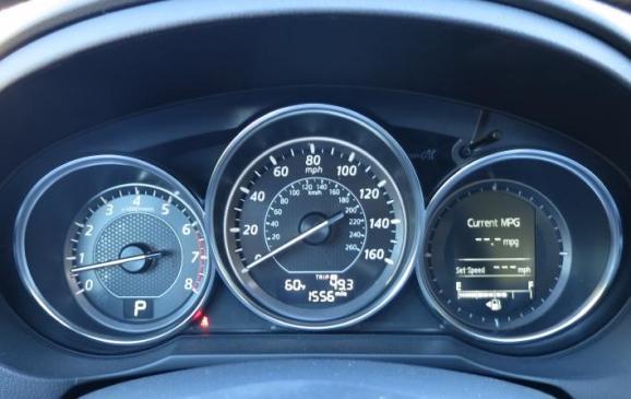 2014 Mazda6 - instrument gauge cluster